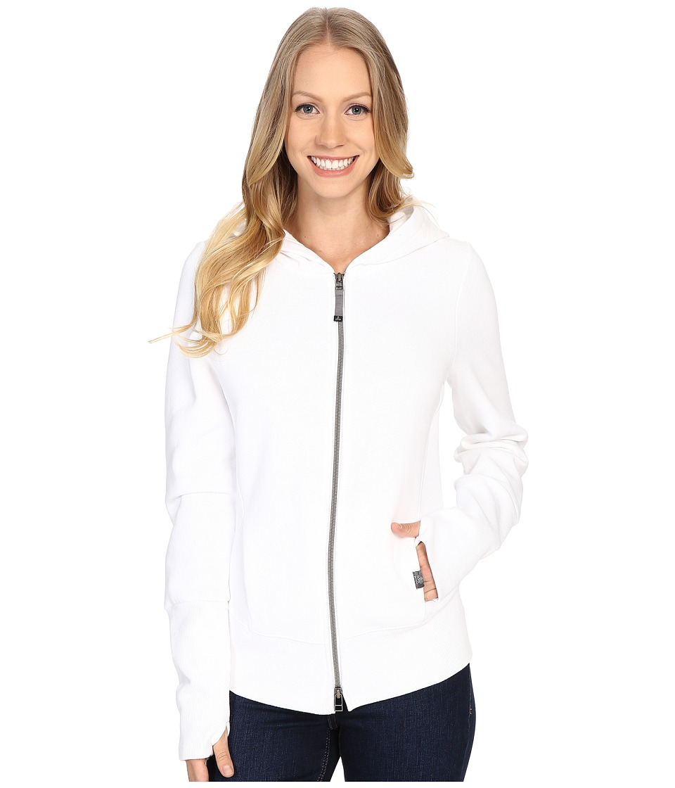 Prana - Honey Hoodie (White) Women's Sweatshirt