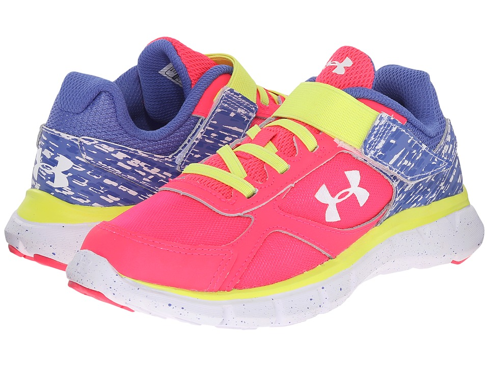 Under Armour Kids - UA GPS Velocity RN GR AC (Little Kid) (Harmony Red/Mirror/White) Girls Shoes