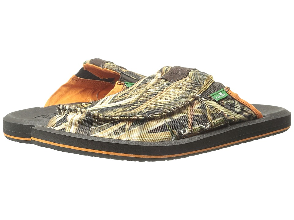 Sanuk - You Got My Back II Blades (Mossy Oak) Men's Slide Shoes