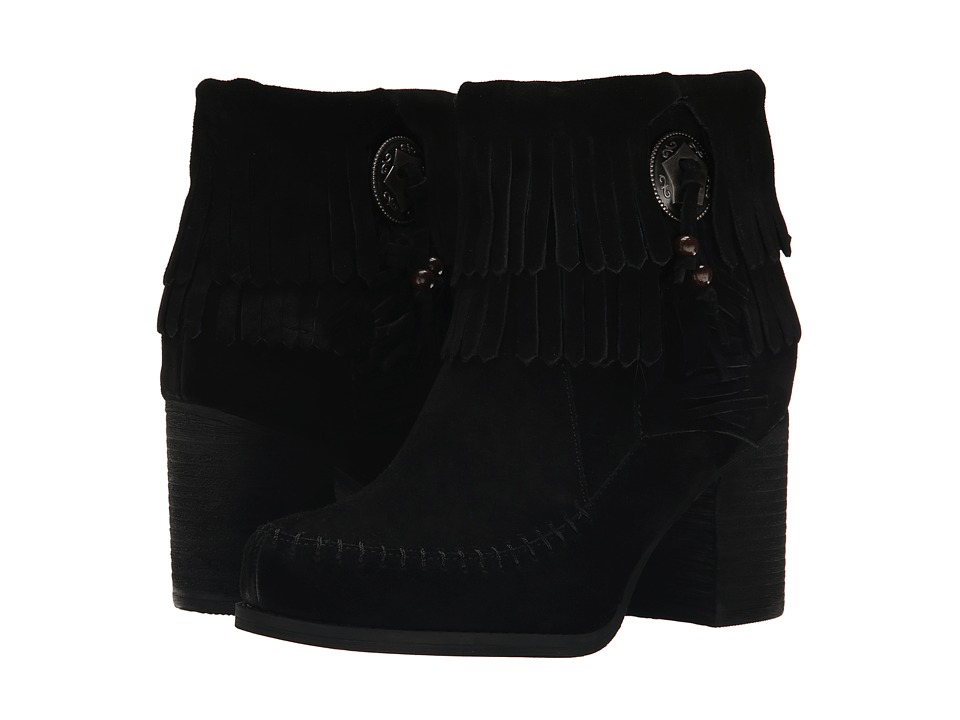 Sbicca - Jessa (Black) Women's Dress Zip Boots