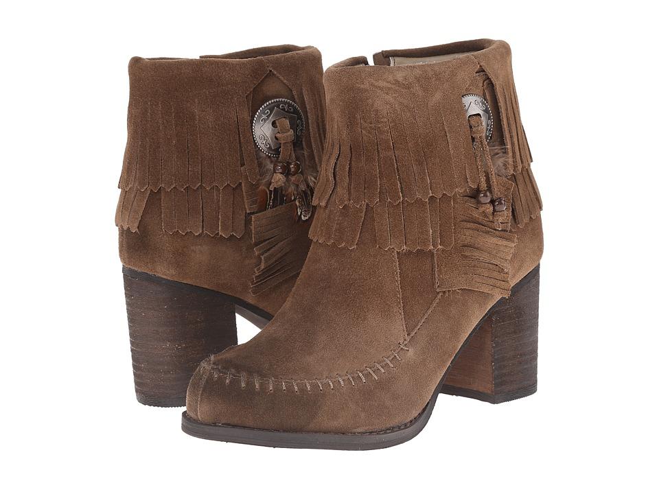 Sbicca - Jessa (Khaki) Women's Dress Zip Boots