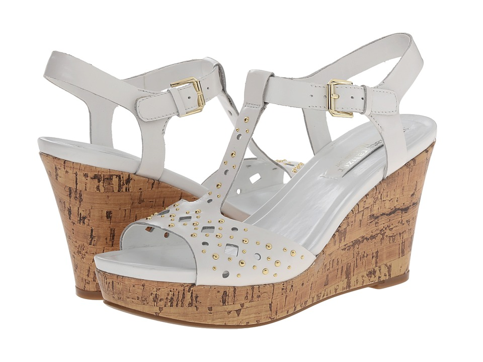 Naturalizer - Riley (White) Women's Wedge Shoes