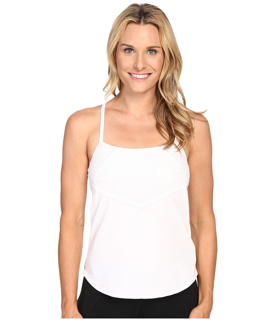 Prana - Pearl Tank Top (White) Women's Sleeveless
