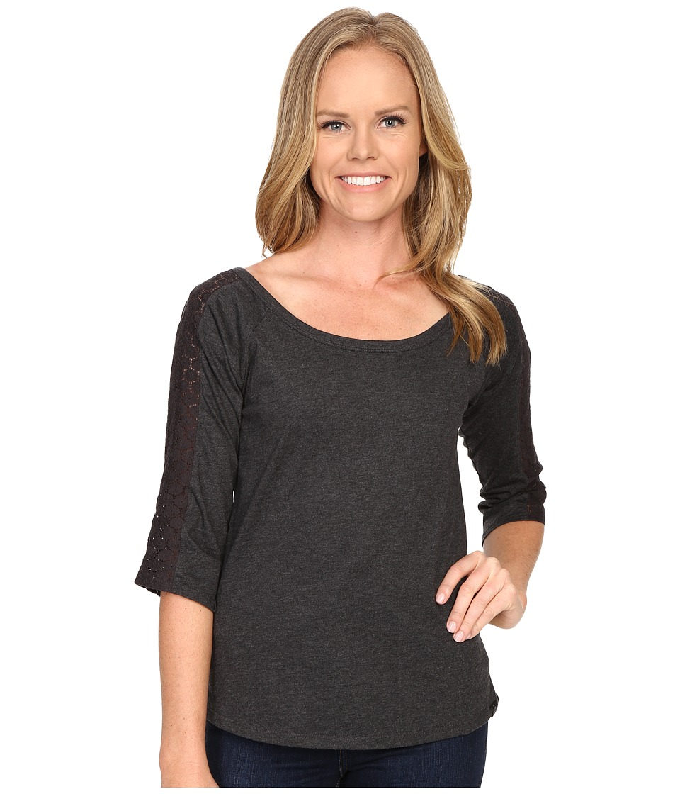 Prana - Alisana Top (Black) Women's Long Sleeve Pullover