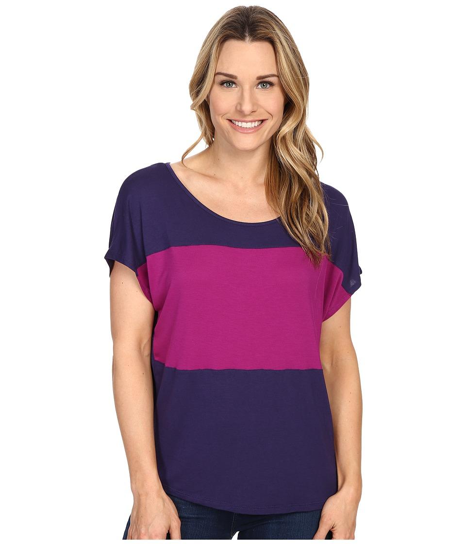 Prana - Vicki Top (Indigo) Women's Clothing