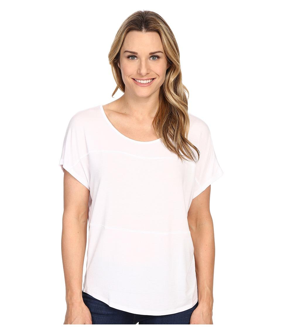 Prana - Vicki Top (White) Women's Clothing