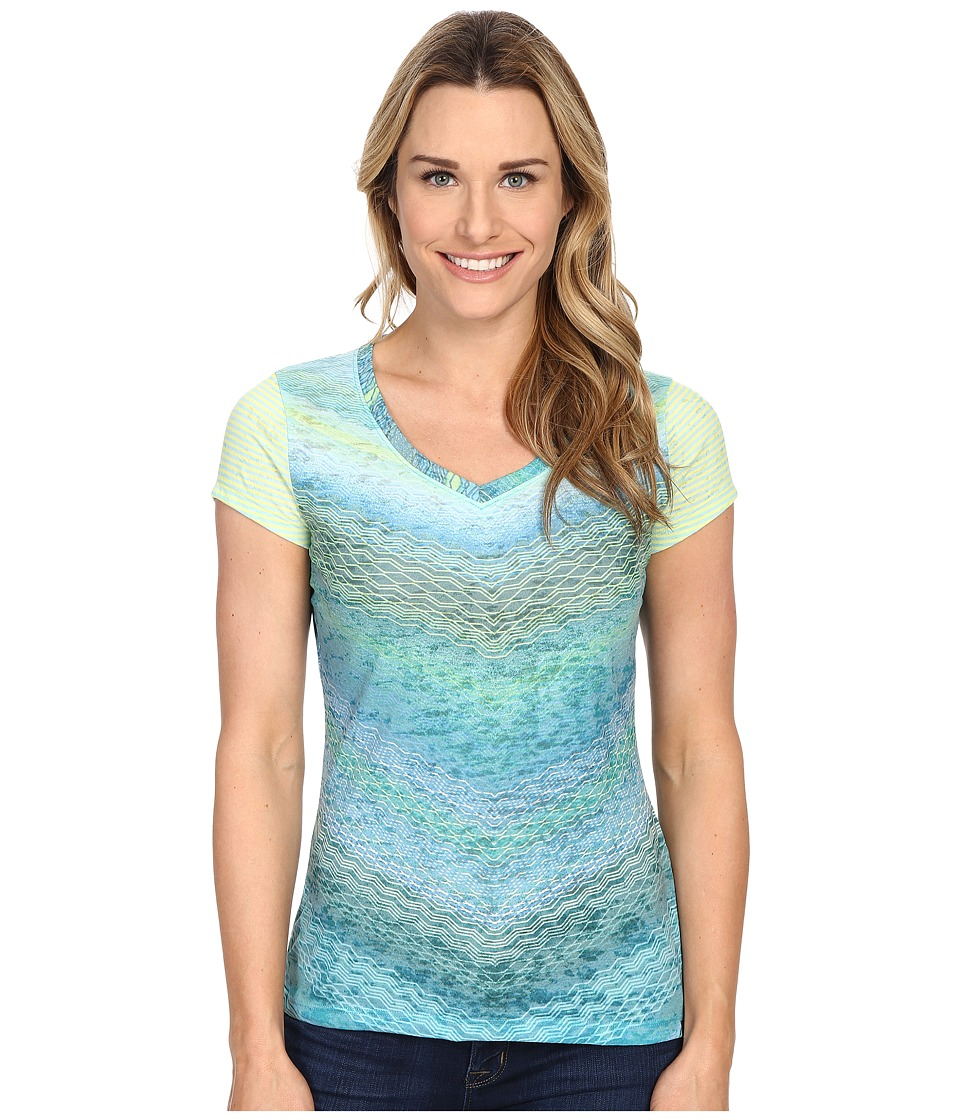 Prana - Hillary Top (Tidal Teal) Women's Clothing