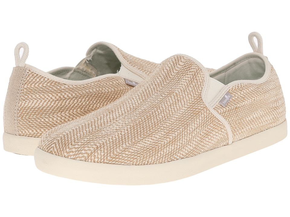 Sanuk - Range TX (Natural) Men's Slip on Shoes