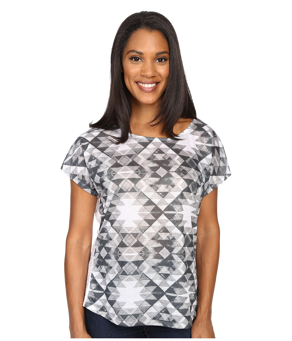 Prana Harlene Top (Black) Women's Clothing