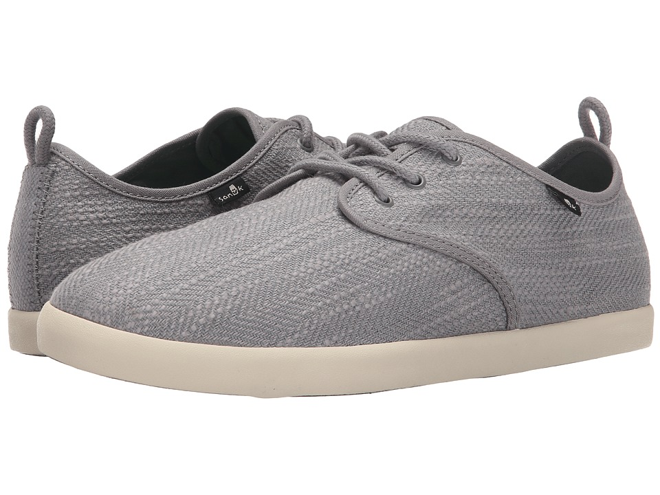 Sanuk - Guide TX (Grey) Men's Lace up casual Shoes