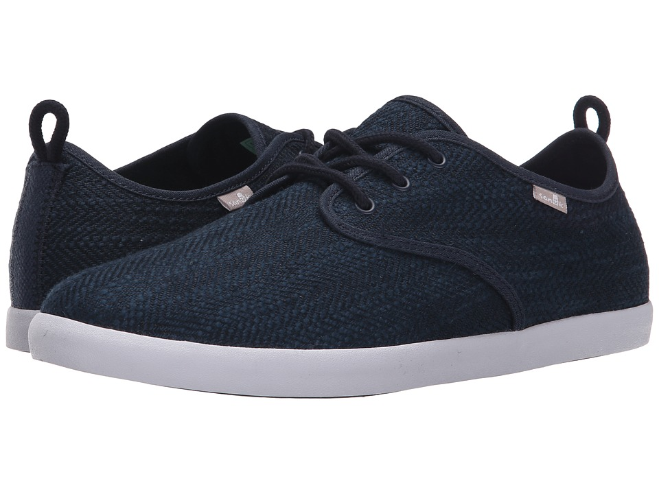 Sanuk - Guide TX (Navy) Men's Lace up casual Shoes