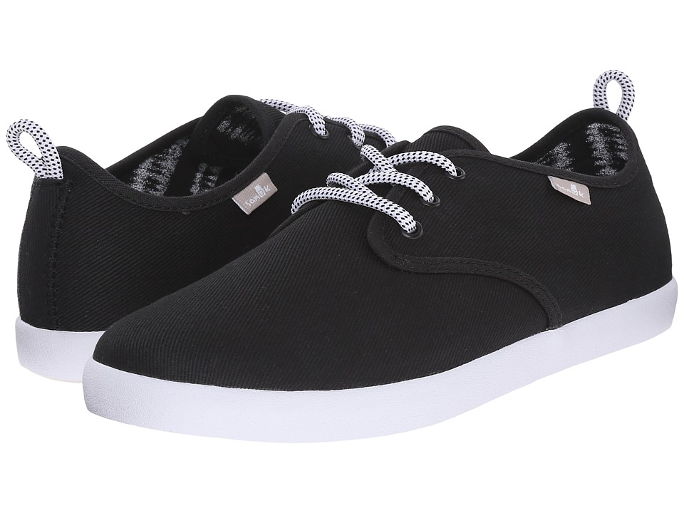 Sanuk - Guide (Black) Men's Lace up casual Shoes