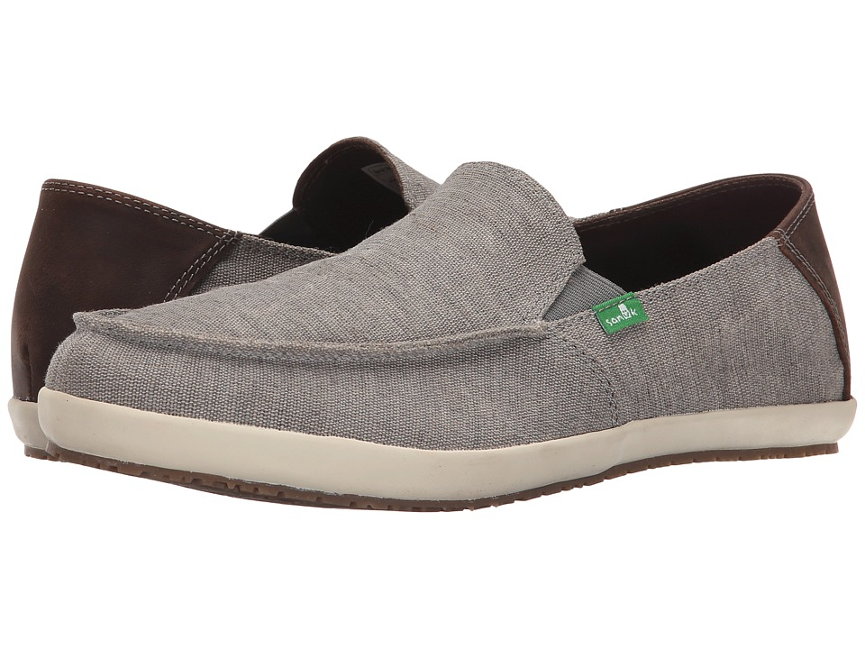 Sanuk Casa Vintage (Grey) Men