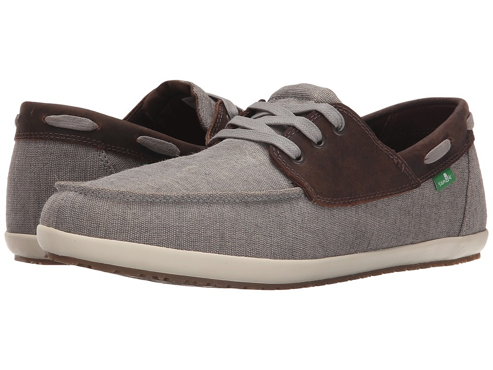 Sanuk Casa Barco Vintage (Grey) Men