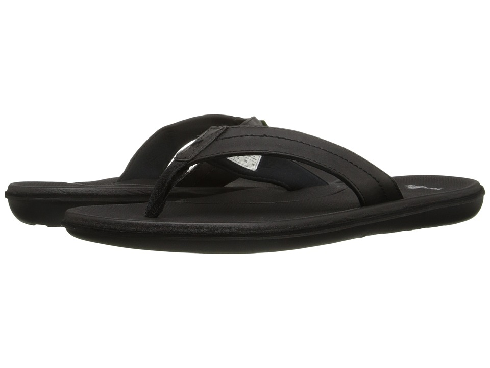 Sanuk - Planer (Black) Men's Sandals