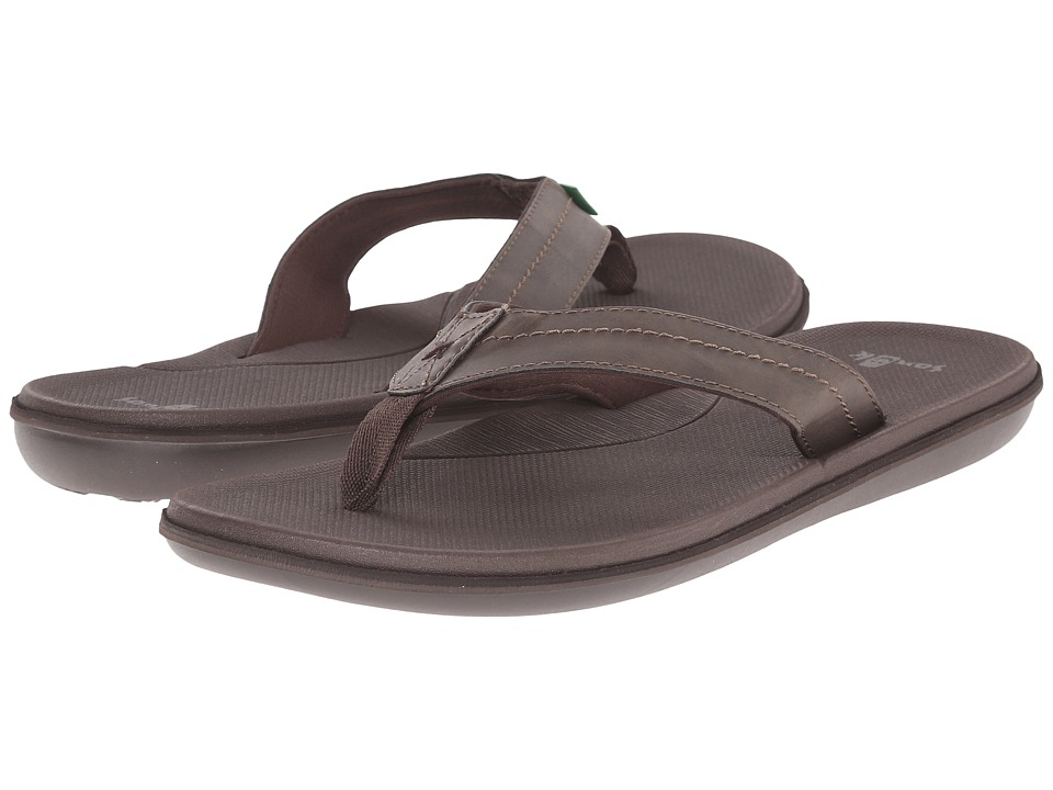 Sanuk - Planer (Brown) Men's Sandals