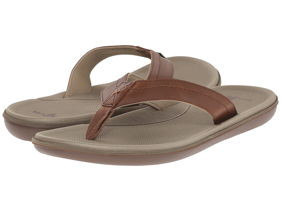 Sanuk - Planer (Tan) Men's Sandals