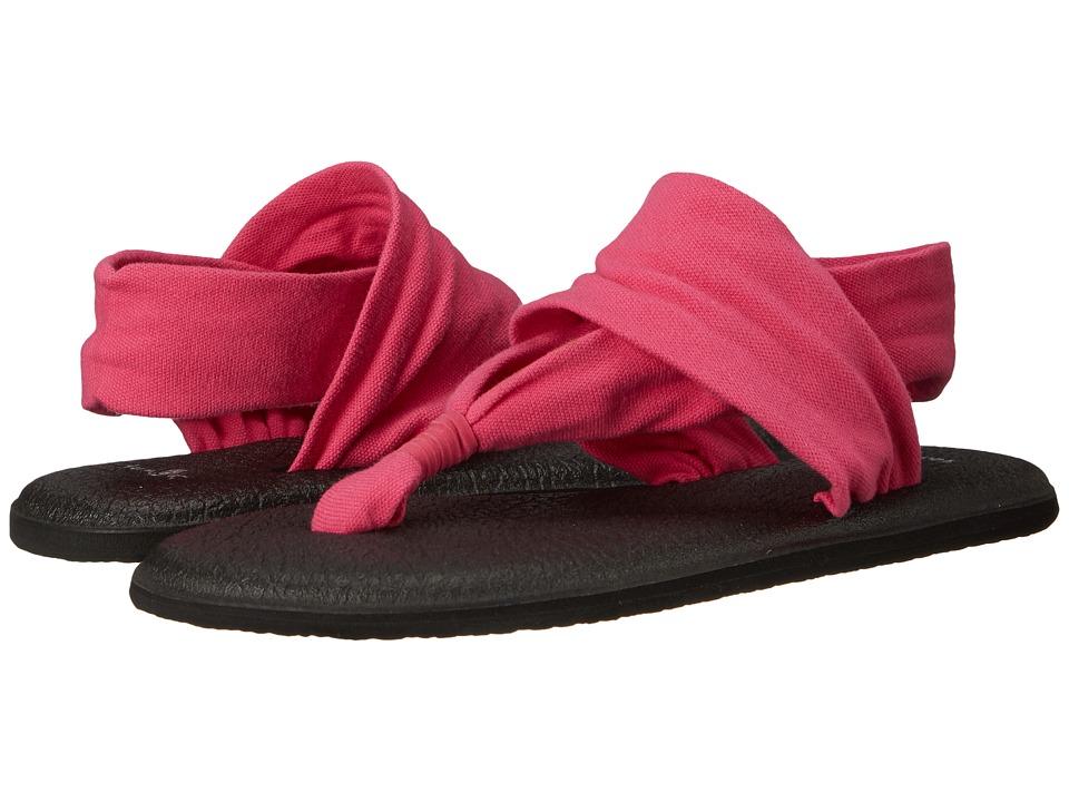 Sanuk - Yoga Sling 2 (Magenta) Women's Sandals
