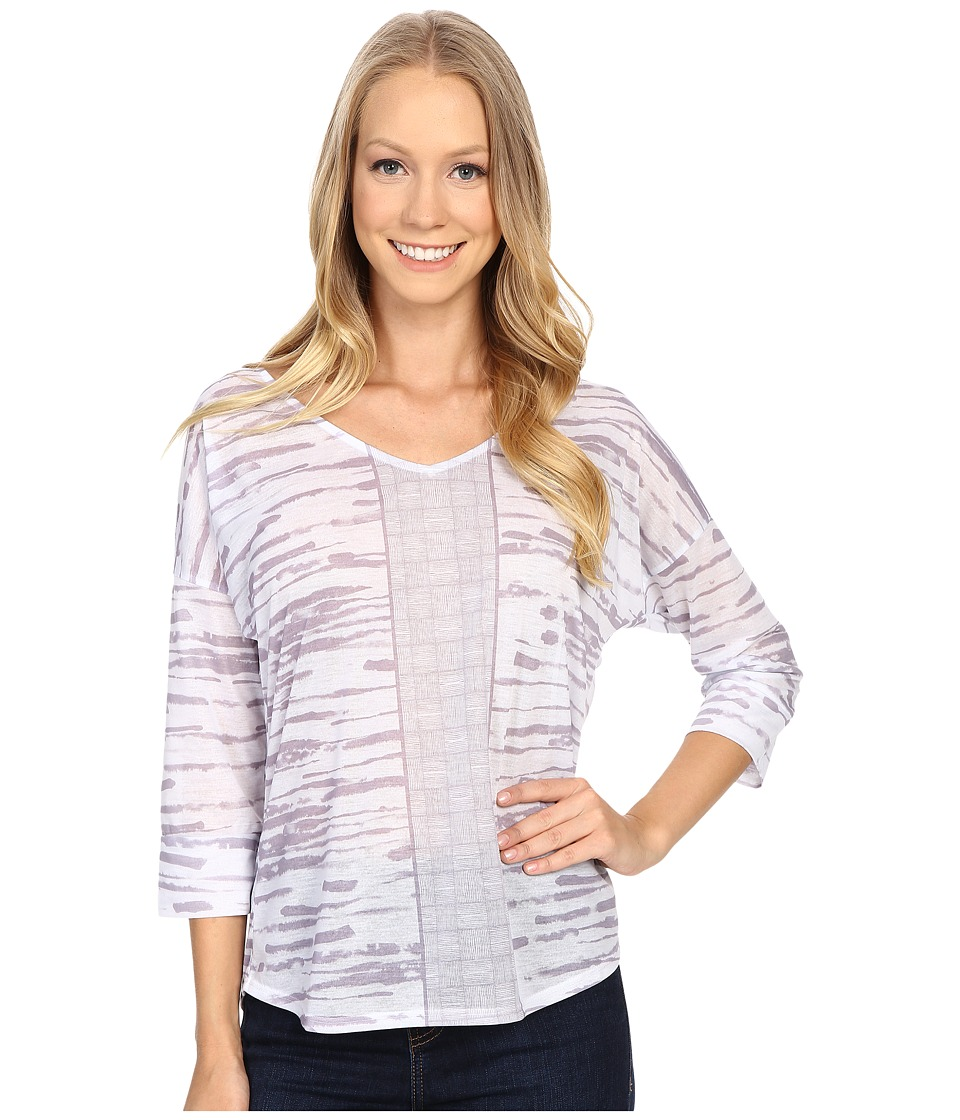 Prana - Aleah Top (Earth Grey) Women's Long Sleeve Pullover