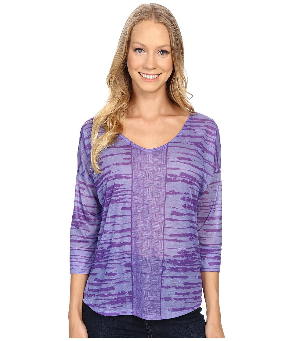 Prana - Aleah Top (Purple Fog) Women's Long Sleeve Pullover