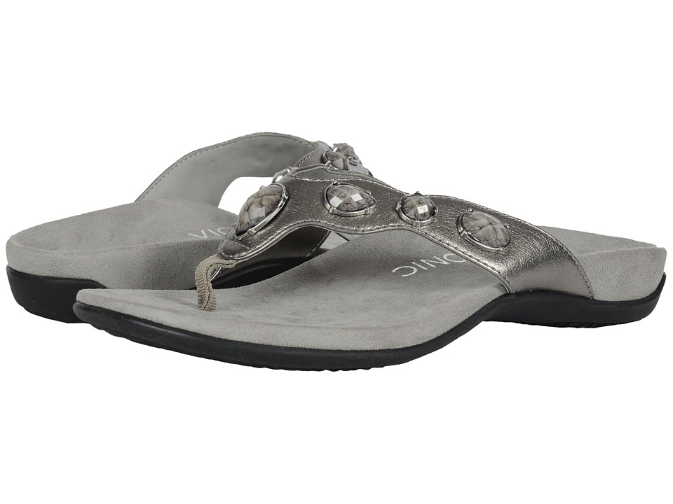 VIONIC - Eve II (Pewter) Women's Sandals