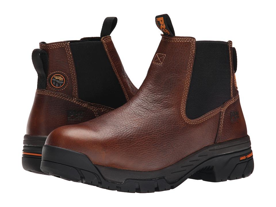 Timberland Helix Chelsea Steel Toe (Brown) Men