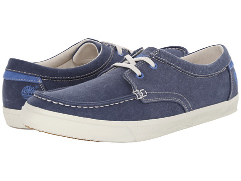 Timberland - Hookset Oxford Canvas (Navy) Men's Shoes
