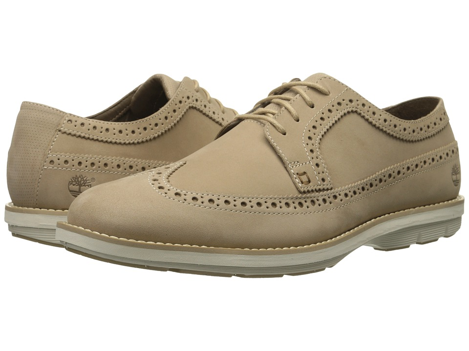 Timberland - Kempton Brogue Oxford (Tan Nubuck) Men