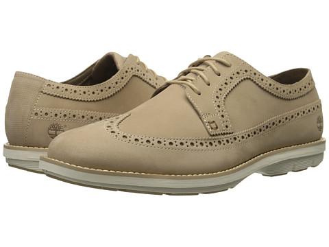 Timberland - Kempton Brogue Oxford (Tan Nubuck) Men's Lace up casual Shoes