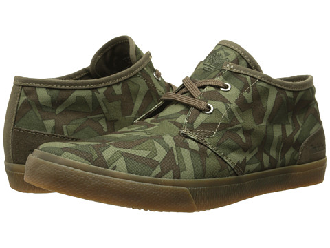 Timberland - Hookset Camp Canvas Chukka (Camo) Men