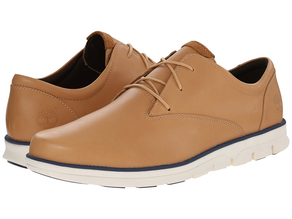Timberland - Bradstreet Plain Toe Oxford (Light Brown) Men