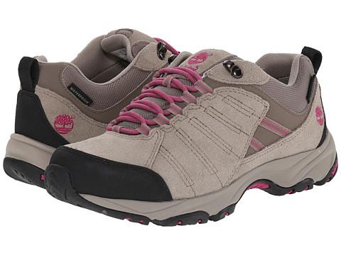 Timberland - Tilton Low Leather Waterproof Hiking Boot (Grey) Women