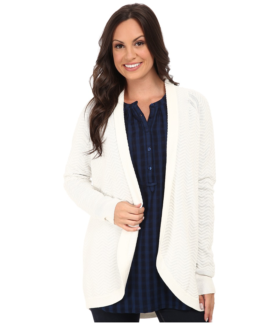 Lucky Brand - Pointelle Cocoon (Marshmallow) Women's Clothing