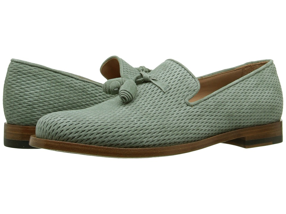 Paul Smith - Steven Suede Net Tassle Loafer (Sage) Women's Slip on Shoes