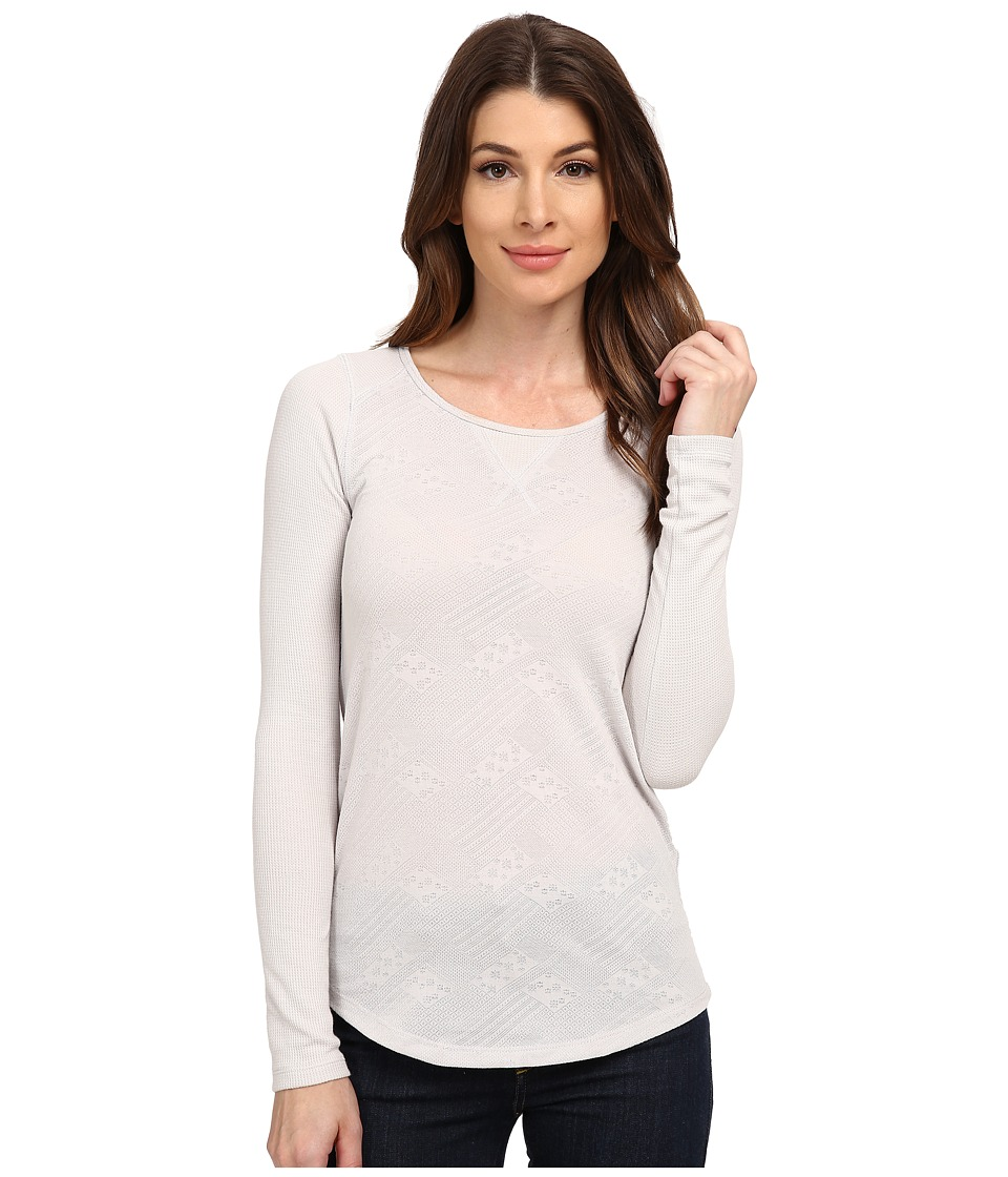 Lucky Brand - Jacquard Thermal (Soft Grey) Women's T Shirt