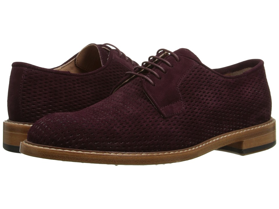 Paul Smith - Stokes Suede Net Oxford (Prune Suede Net) Women's Lace up casual Shoes