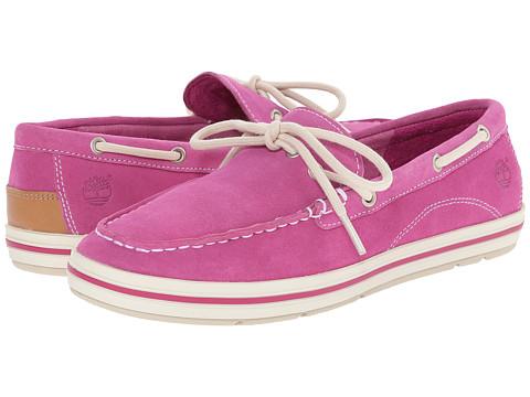 Timberland - Casco Bay Boat Shoe (Mauve Suede) Women