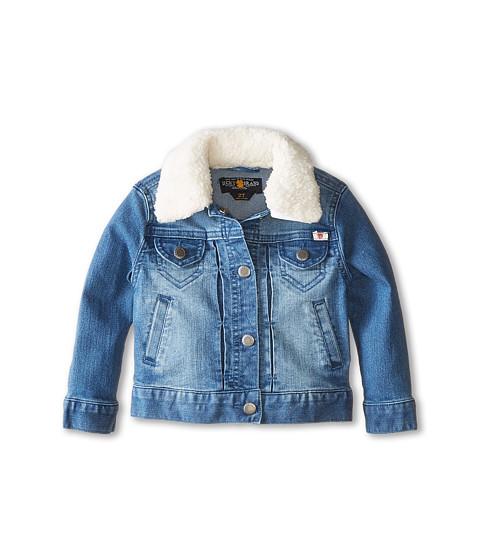 Lucky Brand Kids - Stevie Denim Jacket with Sherpa Collar (Toddler) (Allie Wash) Girl