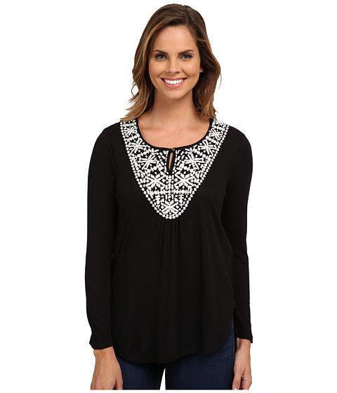 Lucky Brand - Stitched Bib Top (Lucky Black) Women