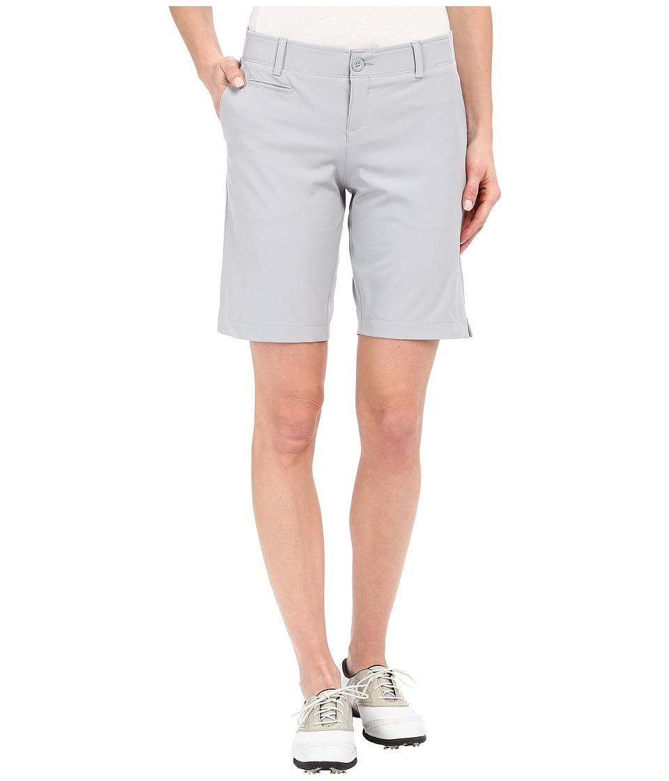 Under Armour Golf - Links Shorts (White/True Gray Heather/White) Women's Shorts