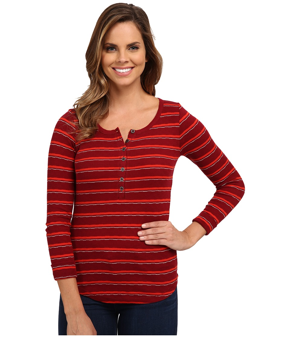 Lucky Brand - Striped Thermal (Grenadine Stripe) Women's Clothing