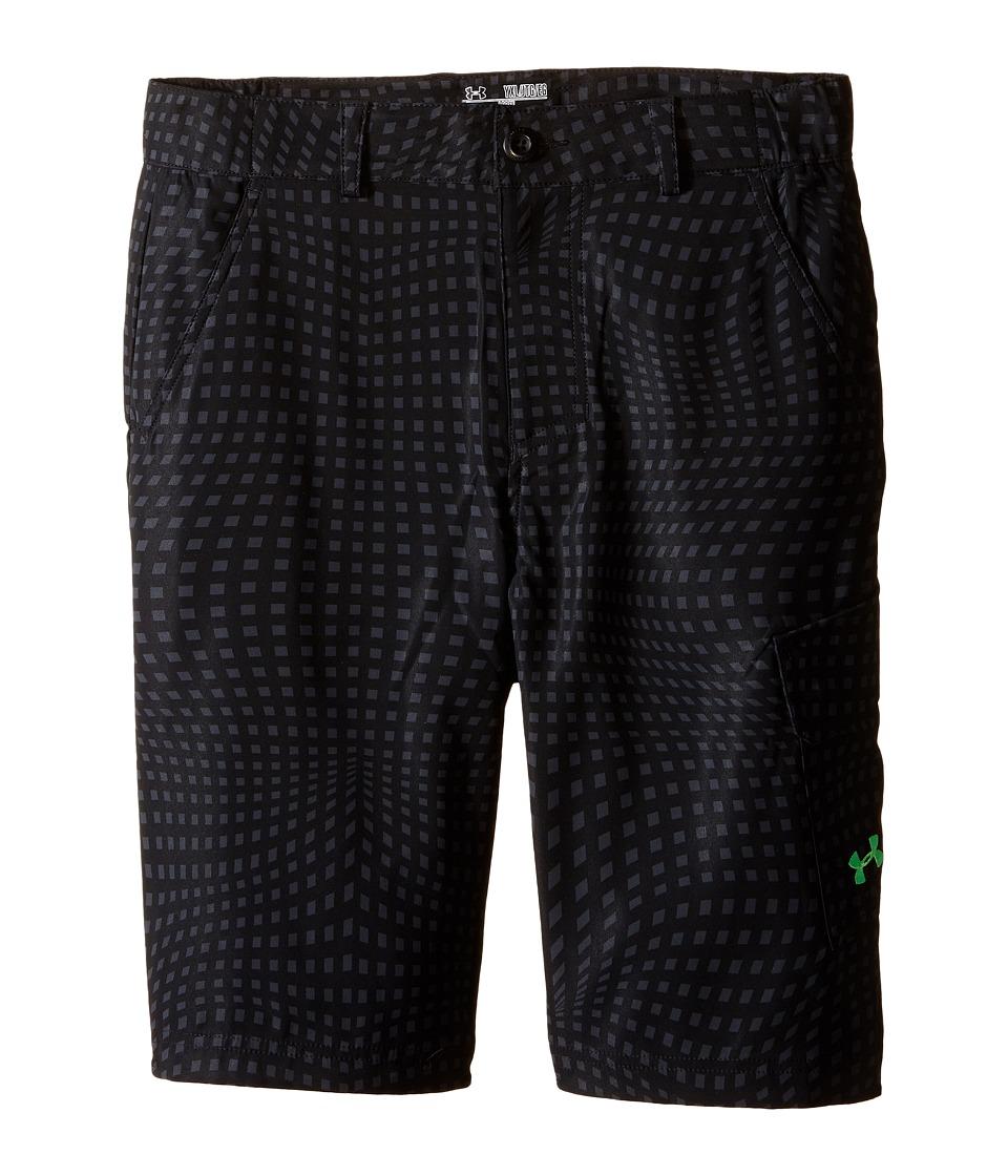 Under Armour Kids - Shark Bait Cargo Short (Big Kids) (Black) Boy's Shorts