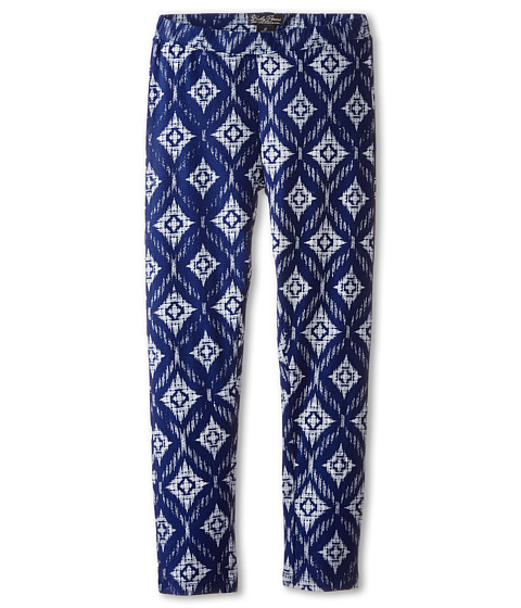 Lucky Brand Kids - Pacific Printed Leggings (Big Kids) (Twilight Blue) Girl