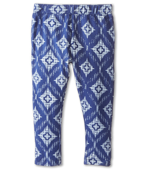 Lucky Brand Kids - Pacific Printed Leggings (Toddler) (Twilight Blue) Girl