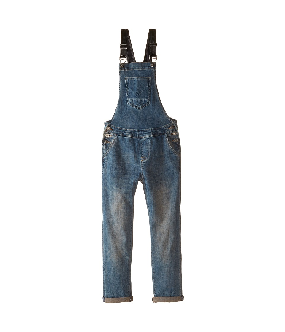Hudson Kids - Lovers Rock Overalls (Big Kids) (Antique Massive) Girl's Overalls One Piece
