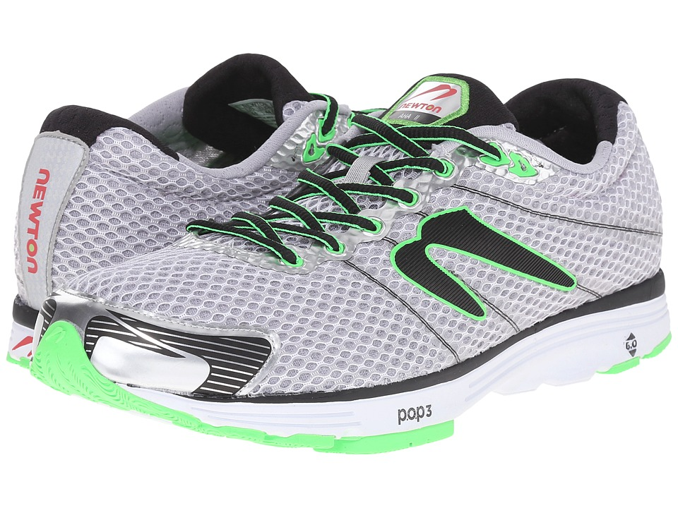 Newton Running - Aha II (Grey/Black) Men's Running Shoes