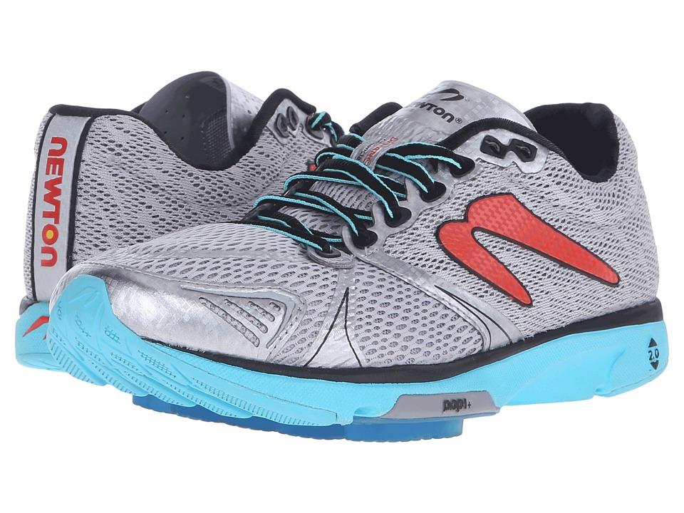 Newton Running Distance V (Silver/Aqua) Women