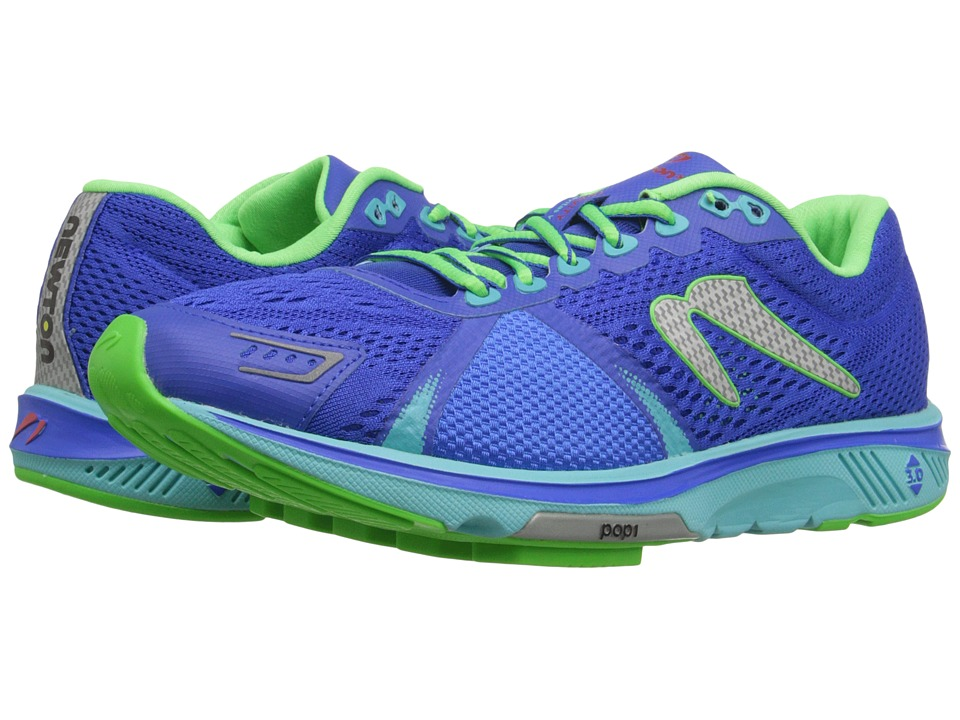 Newton Running - Gravity V (Dark Blue/Lime) Women's Running Shoes