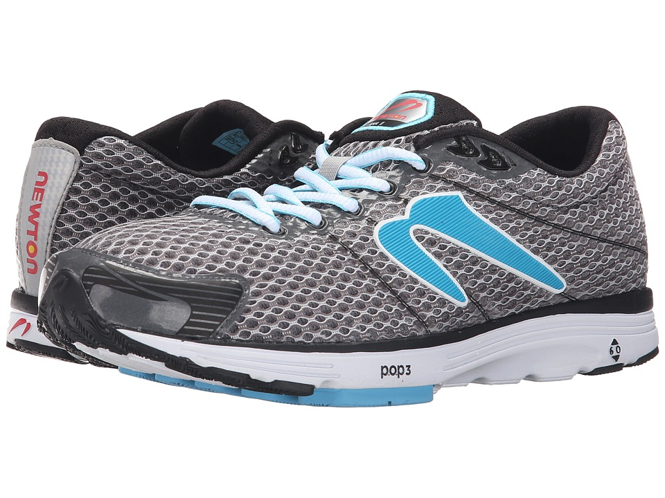 Newton Running - Aha II (Black/Light Blue) Women's Running Shoes