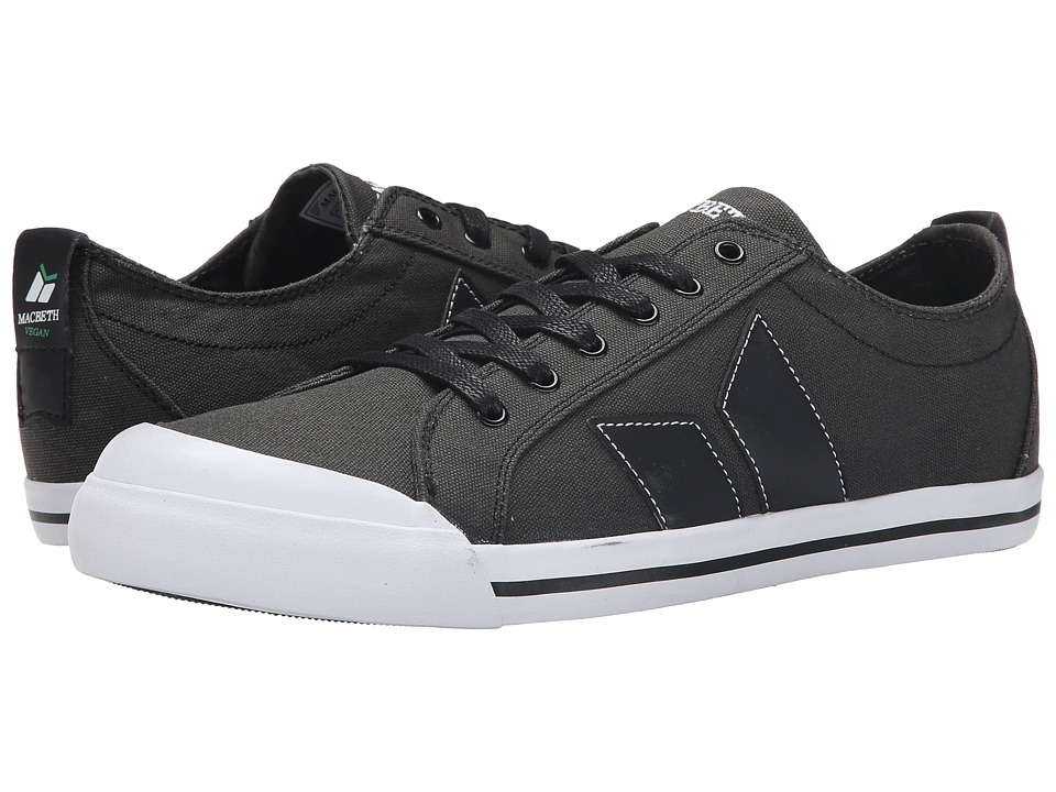 Macbeth - Eliot Vegan (Dark Grey/Black) Skate Shoes